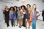 """xx, Jill, Bria, Maureen, Nicole,  join with Delaina Dixon. Editor-In Chief """"TV DivaGal of DivaGalsDaily.com at Let's Celebrate - The Diva Gals Style Lounge on October 5, 2011 at Select Strands, New York City, New York. DivaGalsDaily.com is the premier website inspiring DivaGals around the globe to celebrate evry living moment in a savvy, sophisticated and social way.  (Photo by Sue Coflin/Max Photos)"""