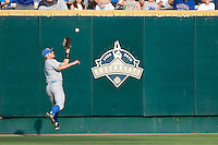 UCLA's Dean Espy against Florida in Game 2 of the NCAA Division One Men's College World Series on Saturday June 19th, 2010 at Johnny Rosenblatt Stadium in Omaha, Nebraska.  (Photo by Andrew Woolley / Four Seam Images)