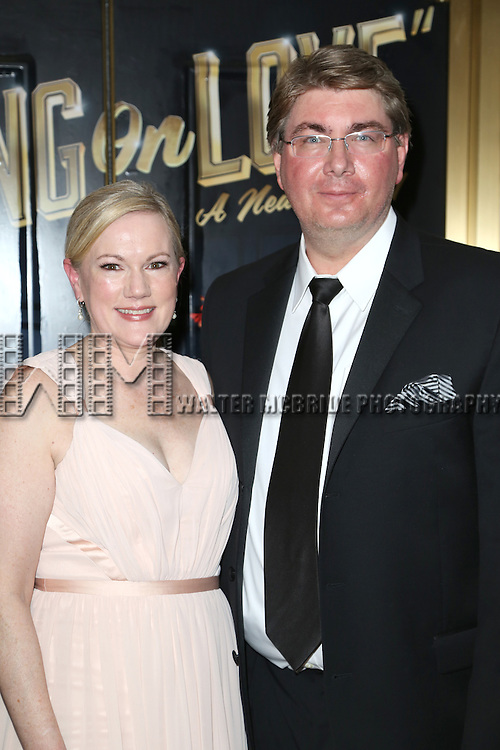 Kathleen Marshall and Scott Landis attends the Broadway Opening Night Performance of  'Living on Love'  at  The Longacre Theatre on April 20, 2015 in New York City.