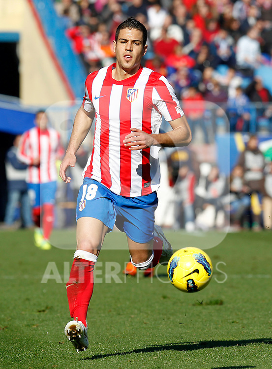 Madrid (04/12/2011).- Estadio Vicente Calderon..LIGA BBVA 15ª Jornada.Atletico de Madrid - Rayo Vallecano..Dominguez.......