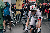 TT World Champion Tony Martin (DEU/Katusha) finishes (a dissapointing) 4th in his homelands opening stage <br /> <br /> 104th Tour de France 2017<br /> Stage 1 (ITT) - D&uuml;sseldorf &rsaquo; D&uuml;sseldorf (14km)