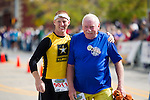 Father and Son at the Quad Cities Marathon 2010