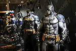 February 19, 2017, Chiba, Japan - Japan's toy maker Prime1Studio displays figures of Batman at the Wonder Festival 2017 Winter in Chiba, suburban Tokyo on Sunday, February 19, 2017. Tens of thousands people visited one-day garage kits and plastic -models trade show hosted by Osaka based toy maker Kaiyodo.    (Photo by Yoshio Tsunoda/AFLO) LwX -ytd-