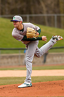 Beloit Snappers pitcher James Naile (17) delivers a pitch during a Midwest League game against the Wisconsin Timber Rattlers on April 10th, 2016 at Fox Cities Stadium in Appleton, Wisconsin.  Wisconsin defeated Beloit  4-2. (Brad Krause/Four Seam Images)