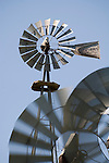 Downey Well Company windmill collection, Merna, Nebraska:..Aermotor windmills