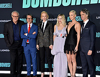 "LOS ANGELES, USA. December 11, 2019: John Lithgow, Charles Randolph, Nicole Kidman, Margot Robbie, Charlize Theron & Jay Roach at the premiere of ""Bombshell"" at the Regency Village Theatre.<br /> Picture: Paul Smith/Featureflash"