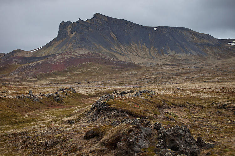Wild countryside of Snaefellsnes Peninsula,Iceland