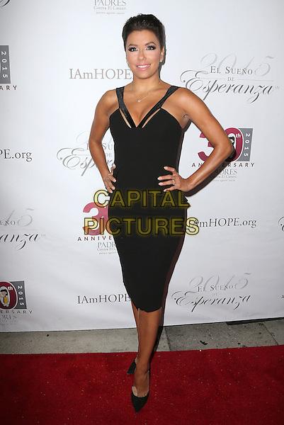 17 September 2015 - Hollywood, California - Eva Longoria. Padres Contra El Cancer's 15th Annual &quot;El Sueno De Esperanza&quot; held at Boulevard3.  <br /> CAP/ADM/FS<br /> &copy;Faye Sadou/AdMedia/Capital Pictures
