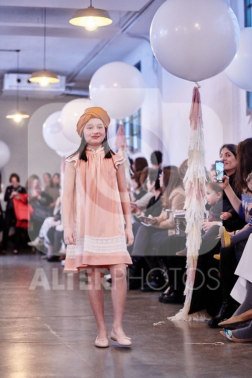 in`Charhadas' children's fashion show on Madrid . January 28, 2020. (ALTERPHOTOS/Yurena Paniagua)