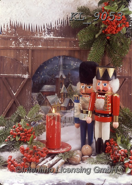Interlitho-Helga, CHRISTMAS SYMBOLS, WEIHNACHTEN SYMBOLE, NAVIDAD SÍMBOLOS, photos+++++,nutcracker, red candles,KL9053,#xx#