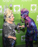 "Bette Midler and Frankie Grande attends Bette Midler's New York Restoration Project hosts the 22nd Annual Hulaween Event ""Hulaween in the Cosmos"" at St. John the Divine on October 29, 2018 in New York City."