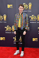 Devin Druid at the 2018 MTV Movie &amp; TV Awards at the Barker Hanger, Santa Monica, USA 16 June 2018<br /> Picture: Paul Smith/Featureflash/SilverHub 0208 004 5359 sales@silverhubmedia.com