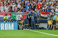 MOSCOU, RUSSIA, 15.07.2018 - FRANCA-CROACIA - Antoine Griezmann comemora gol da França durante partida contra Croacia em jogo valido pela Final da Copa do Mundo da Russia no Estádio Luzhnikina cidade de Moscou na Russia neste domingo, 15.(Foto: William Volcov/Brazil Photo Press)
