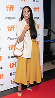 """TORONTO, ONTARIO - SEPTEMBER 07: Rosario Dawson attends the """"Briarpatch"""" premiere during the 2019 Toronto International Film Festival at TIFF Bell Lightbox on September 07, 2019 in Toronto, Canada. <br /> CAP/MPI/IS/PICJER<br /> ©PICJER/IS/MPI/Capital Pictures"""