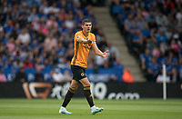 Conor Coady of Wolves during the Premier League match between Leicester City and Wolverhampton Wanderers at the King Power Stadium, Leicester, England on 10 August 2019. Photo by Andy Rowland.