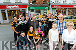Rock Street Post Office is in danger of closing Austin Stacks GAA club are launching an initiative to support them Pictured Postmaster Marie Williams with family Martin Williams, Shauna Williams with Austin Satck supporters