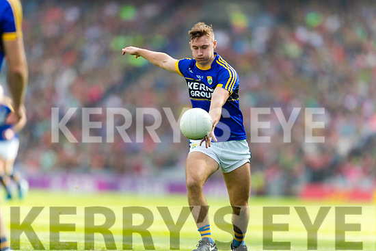James O'Donoghue Kerry in action against  Mayo in the All Ireland Semi Final Replay in Croke Park on Saturday.