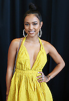 LOS ANGELES, CA - JUNE 26, 2016 Karrueche attends the BET Awards Remote Radio Room at The JW Marriot in Los Angeles, CA. Photo Credit: Walik Goshorn / Media Punch