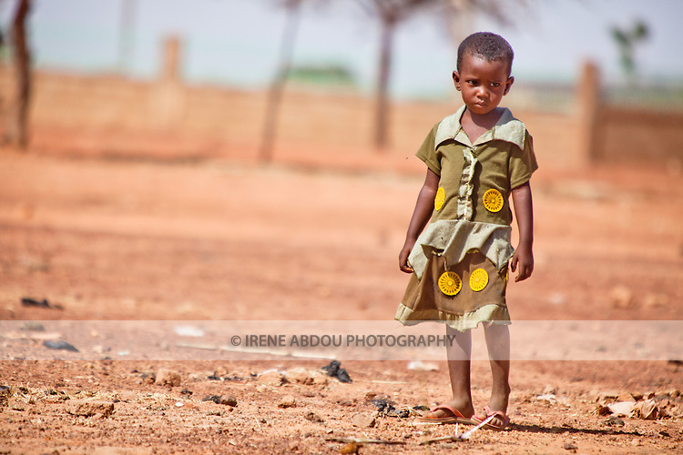 Fulani girl in the town of Djibo in northern Burkina Faso.