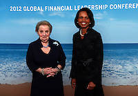 Condolezza Rice & Madeleine Albright Photo Portraits