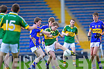 No way through for Padraig Boyle as Tipperary's Niall O'Sullivan puts the pressure on in the Munster Minor Semi Final in Thurles.