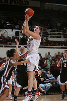 STANFORD, CA - NOVEMBER 1:  Sarah Boothe of the Stanford Cardinal during Stanford's 123-39 exhibition win against Chico State on November 1, 2008 at Maples Pavilion in Stanford, California.