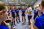 Mannheim, Germany, January 03: During the 1. Bundesliga women indoor hockey match between TSV Mannheim and Mannheimer HC on January 3, 2020 at Primus-Valor Arena in Mannheim, Germany. Final score 4-4. (Photo by Dirk Markgraf / www.265-images.com) ***