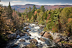 Fall colors the Magalloway River in the Rangeley Lakes region, Maine Lakes and Mountains, ME