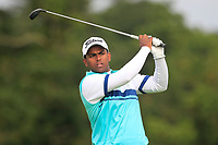 Rayhan John Thomas of Team India on the 6th tee during Round 3 of the WATC 2018 - Eisenhower Trophy at Carton House, Maynooth, Co. Kildare on Friday 7th September 2018.<br /> Picture:  Thos Caffrey / www.golffile.ie<br /> <br /> All photo usage must carry mandatory copyright credit (© Golffile   Thos Caffrey)
