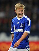 FUSSBALL   1. BUNDESLIGA  SAISON 2012/2013   7. Spieltag   FC Schalke 04 - VfL Wolfsburg        06.10.2012 Lewis Holtby (FC Schalke 04)