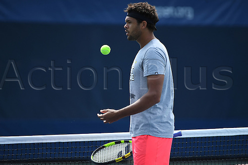 04.09.2016. Flushing Meadows, New York, USA. US Open 2016 Grand Slam tennis tournament.  Jo Wilfried Tsonga (FRA)