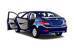 Car images of 2016 Hyundai Accent SE 4-Door 6-Speed Automatic 4 Door Sedan Doors