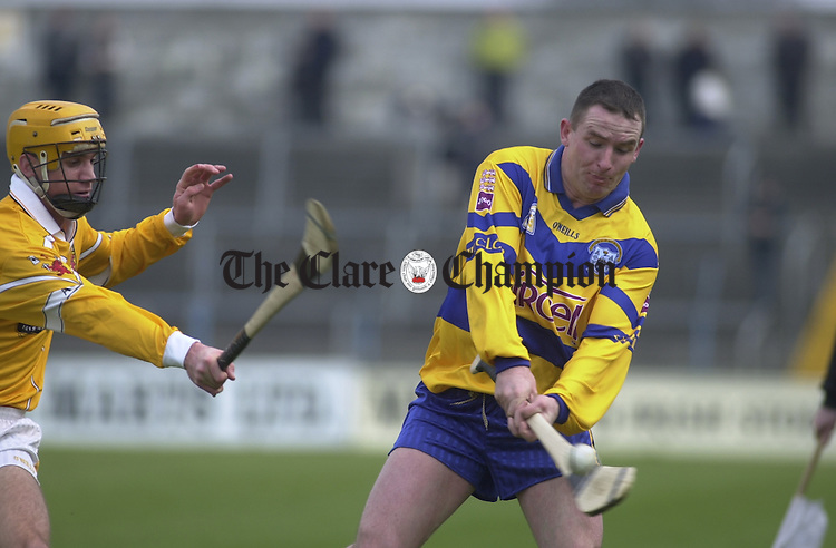 Colin Lynch, Clare hurler.