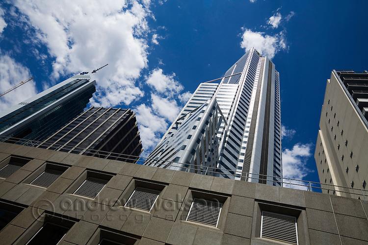 City highrises.  Perth, Western Australia, AUSTRALIA.