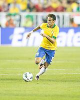 Brazil forward Neymar (10).  In an International friendly match Brazil defeated Portugal, 3-1, at Gillette Stadium on Sep 10, 2013.