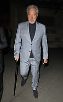 Sir Tom Jones at the &quot;The Adoration Trilogy: Searching For Apollo&quot; by Alistair Morrison opening gala, Victoria &amp; Albert Museum, Cromwell Road, London, England, UK, on Monday 13 November 2017.<br /> CAP/CAN<br /> &copy;CAN/Capital Pictures