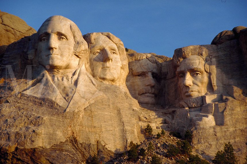 Mt. Rushmore National Memorial in South Dakota's Black Hills