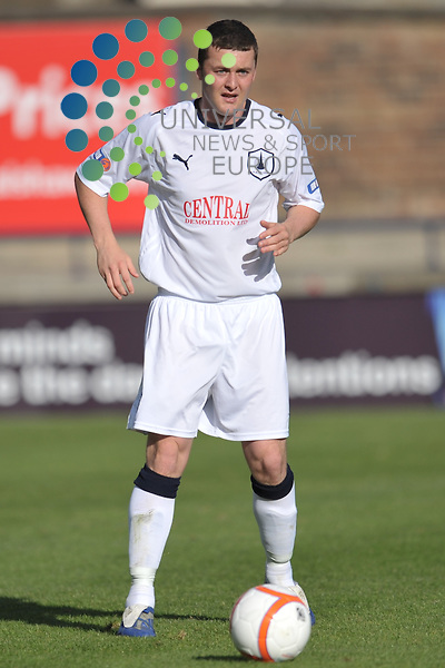 Thomas Scobbie retained by Falkirk FC at the end of season 2010/11.