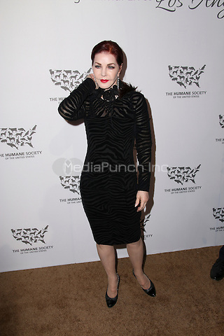 HOLLYWOOD, CA - MAY 07: Priscilla Presley attends The Humane Society of the United States' to the Rescue Gala at Paramount Studios on May 7, 2016 in Hollywood, California. Credit: Parisa/MediaPunch.