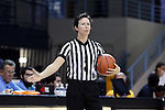 22 November 2016: Referee Meadow Overstreet. The University of North Carolina Tar Heels hosted the Charleston Southern University Buccaneers at Carmichael Arena in Chapel Hill, North Carolina in a 2016-17 NCAA Women's Basketball game. UNC won the game 93-77.