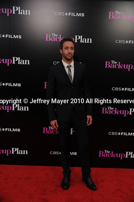 "WESTWOOD, CA. - April 21: Alex O'Loughlin attends the ""The Back-Up Plan"" Los Angeles Premiere at Regency Village Theatre on April 21, 2010 in Westwood, California."