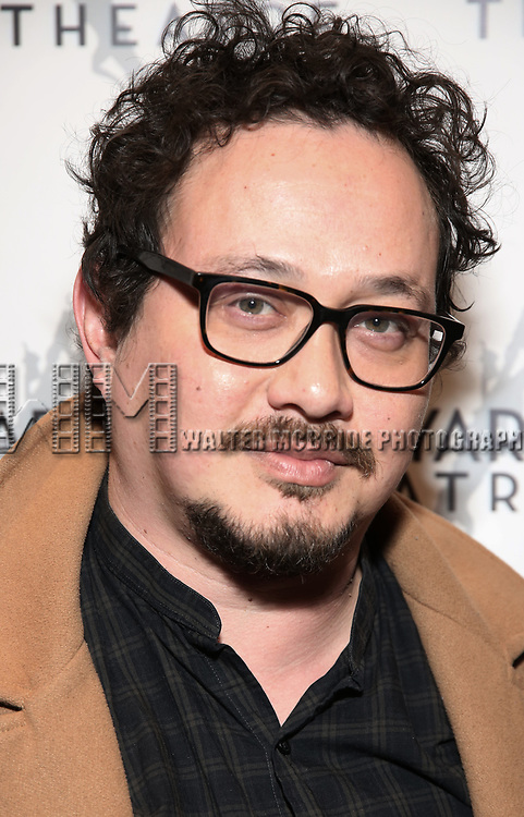 """Michael Braun attending the Opening Night Performance for The Vineyard Theatre production of  """"Do You Feel Anger?"""" at the Vineyard Theatre on April 2, 2019 in New York City."""