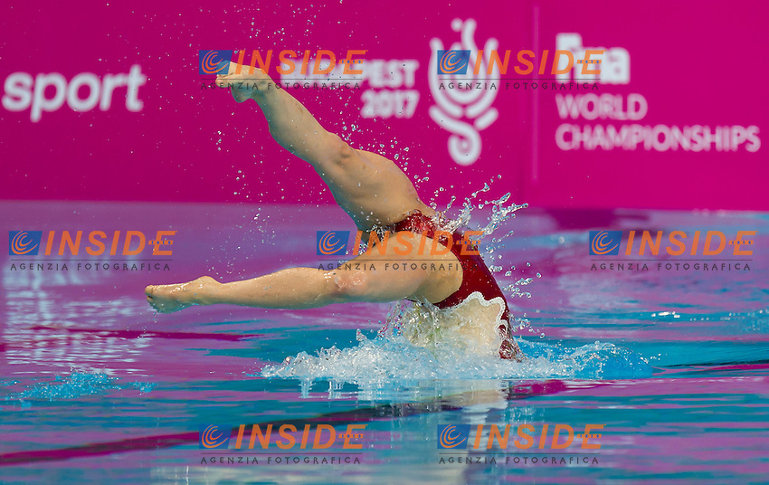 DEGRAAF Margot NED<br /> London, Queen Elizabeth II Olympic Park Pool <br /> LEN 2016 European Aquatics Elite Championships <br /> Synchro<br /> Solo Technical final <br /> Day 04 12-05-2016<br /> Photo Giorgio Perottino/Deepbluemedia/Insidefoto