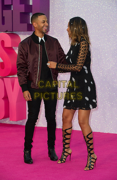 LONDON, ENGLAND - SEPTEMBER 05: Marvin Humes and Rochelle Humes arrive for the world premiere of 'Bridget Jones's Baby' at Odeon Leicester Square on September 5, 2016 in London, England. <br /> CAP/PP/GM<br /> &copy;GM/PP/Capital Pictures