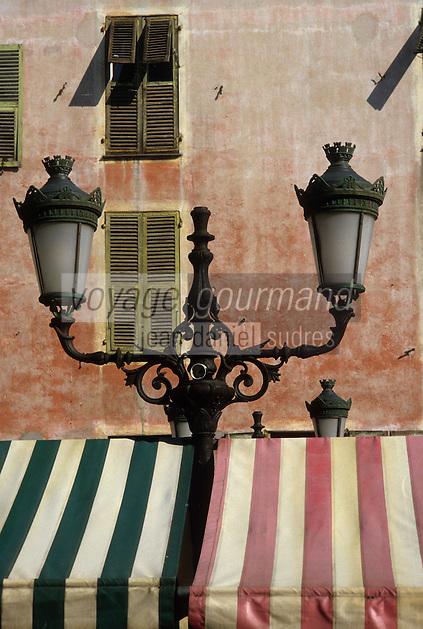 Europe/France/Provence-Alpes-Côtes d'Azur/06/Alpes-Maritimes/Nice : Le marché aux fleurs