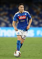 12th July 2020; Stadio San Paolo, Naples, Campania, Italy; Serie A Football, Napoli versus AC Milan; Piotr Zielinski of Napoli