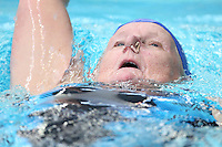 PICTURE BY VAUGHN RIDLEY/SWPIX.COM - Swimming - ASA Masters and Senior Age Group Championships 2012 - Ponds Forge, Sheffield, England - 27/10/12 - Grace Isaac competes in the Women's 100m Backstroke.