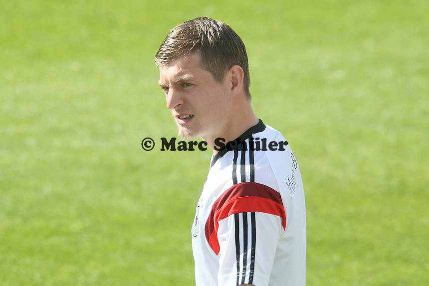 Toni Kroos - Testspiel der Deutschen Nationalmannschaft gegen die U20 zur WM-Vorbereitung in St. Martin
