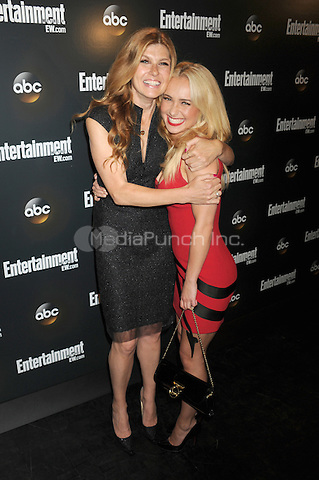 Connie Britton and Hayden Panettiere attend the Entertainment Weekly & ABC-TV Up Front VIP Party at Dream Downtown on May 15, 2012 in New York City. Credit: Dennis Van Tine/MediaPunch
