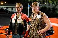 Sex Drive (2008) <br /> James Marsden &amp; Michael Cudlitz<br /> *Filmstill - Editorial Use Only*<br /> CAP/MFS<br /> Image supplied by Capital Pictures